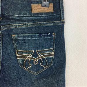 Seven 7 of Mankind Denim Jeans Boot Cut 25
